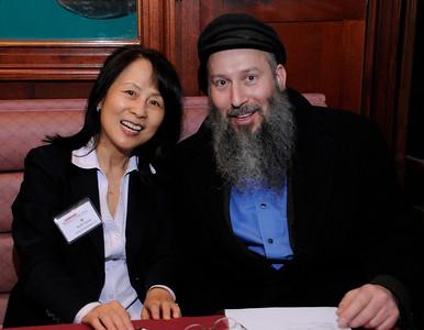 Mi Puyang and Andy Dubosky at MCBC CNY Banquet