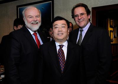 Secretary John McDonough, Heng Xiaojun and Mike Violette at 2013 MCBC CNY Banquet