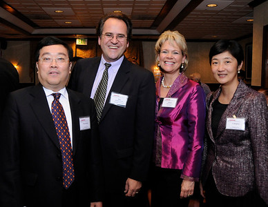 Minister Counselor Heng, Mike Violette, Patricia Syvrud and Ms. Li at 2013 MCBC Banquet