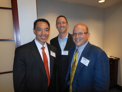 "Frank Ji, Bill Cosgrove and David Hofmann provided a summary of opportunities and prospects to the Maryland China Business Council ""Real World"" Series Event at Columbia Bank"