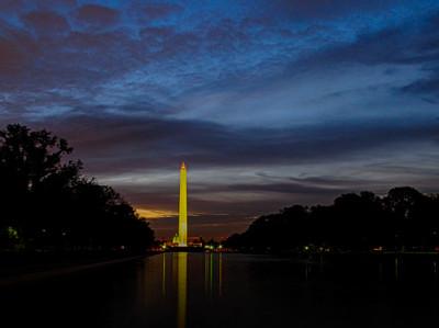 Sunrise at Washington Monument