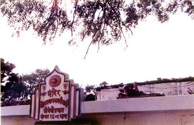 roof top sadhu SHANKAR