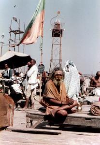 swamiji looks on SHANKAR