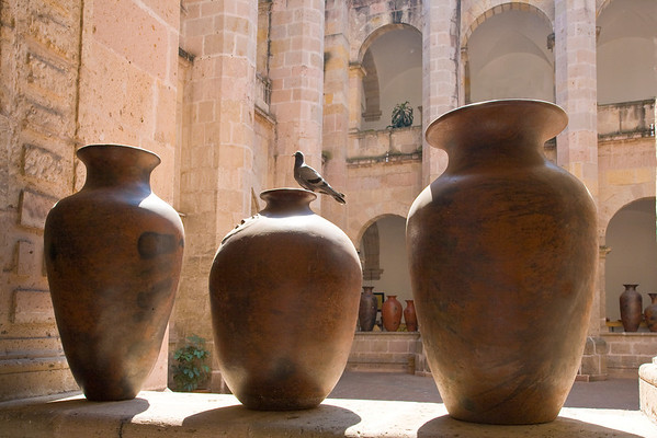 Three Urns and a Pigeon No.2