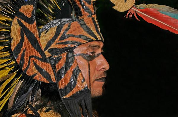Nahuatl Warrior<br /> San Miguel de Allende, Mexico