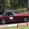 David Wills made his Hillclimb debut in his MG Midget- improved his times by six seconds!