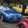 Peter and Gaye Finlay's MGF Trophy 160 in the Hunters Hill Annual Street Parade 7th August 2011.