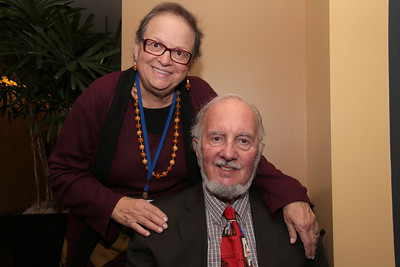 Terry Bohrer with her husband.  Terry, like me, is a member of the Mental Health Board of San Francisco.