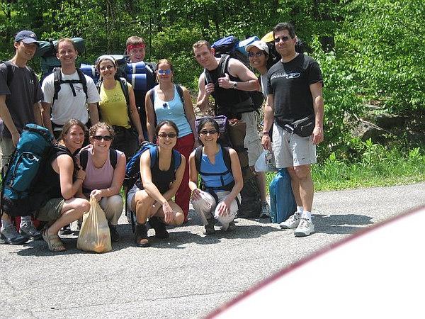 MHS staff camping retreat