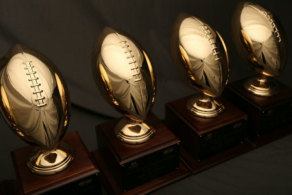 MHSAA Football Championship Trophies