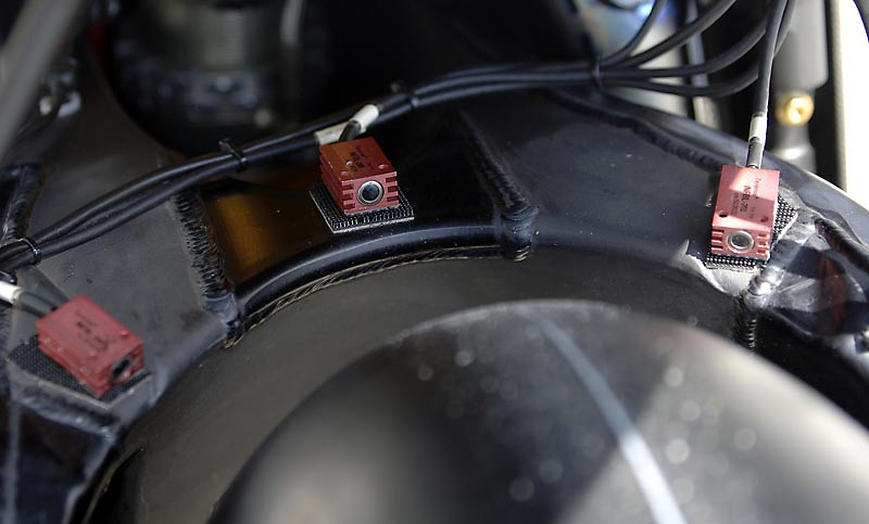 IR tyre temp sensors on 05 GP Suzuki