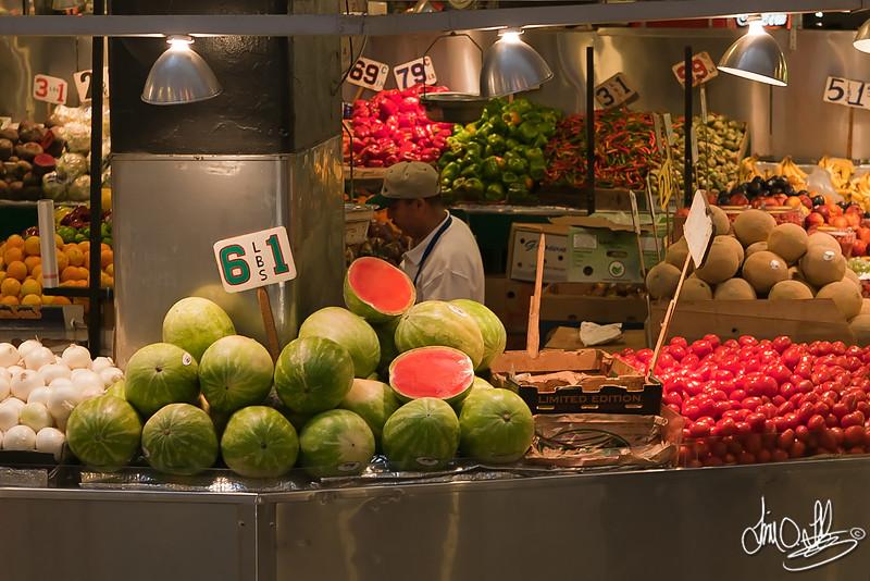 Grand Central Market produce<br /> Los Angeles, CA