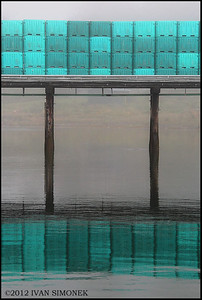 """CONTAINER REFLECTION 2"", Wrangell,Alaska,USA."