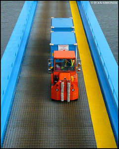 """FERRY TRAIN"",Alaska Marine Highway,Alaska,USA."