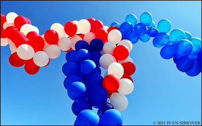"""BALLOONS"",July 4th,Wrangell,Alaska,USA."