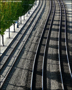 """RAILROAD TRACKS"",Seattle,Wash.,USA."