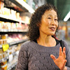 "Shopping with miso soup cook Noriko Hirayama (cq) and freelance writer Tracy Saelinger at Uwajimaya in Beaverton Wednesday 11/7/12. © 2012 Fred Joe /  <a href=""http://www.fredjoephoto.com"">http://www.fredjoephoto.com</a>"