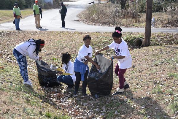 MLK Prep Community Service-King Day 2015
