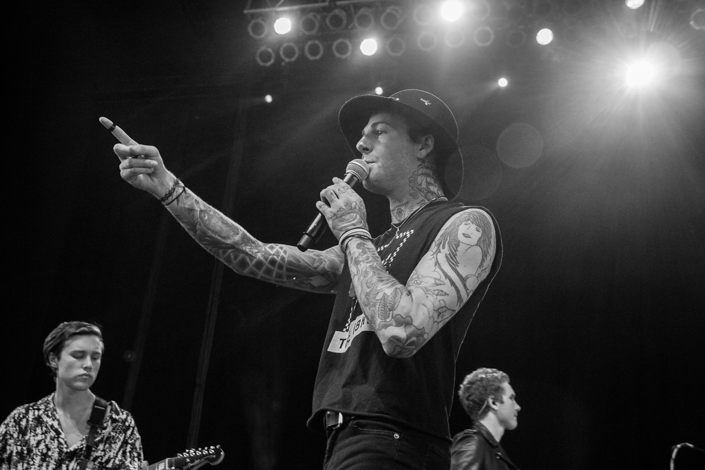 . The Neighbourhood performing at Mo Pop Fest - Freedom Hill, Sterling Heights - 6/12/14. Photos by Dylan Dulberg/Special to The Oakland Press