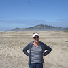 "This is a picture of the ""mini"" sand dunes at Agate Beach...we walked the whole thing"