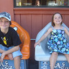 These chairs shake...the kids loved them