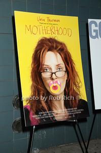 Motherhood movie poster  photo  by Rob Rich © 2009 robwayne1@aol.com 516-676-3939