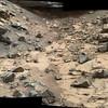0796-peculiar grooved basalt rocks