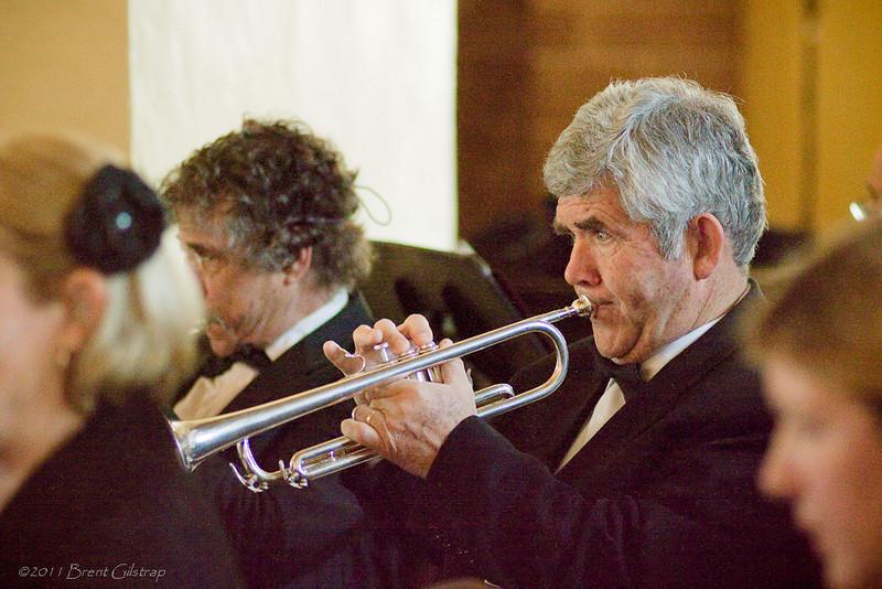 Trumpeter Jim Harrison<br /> <br /> Ahwahnee Hotel<br /> Yosemite National Park<br /> 10 April 2011