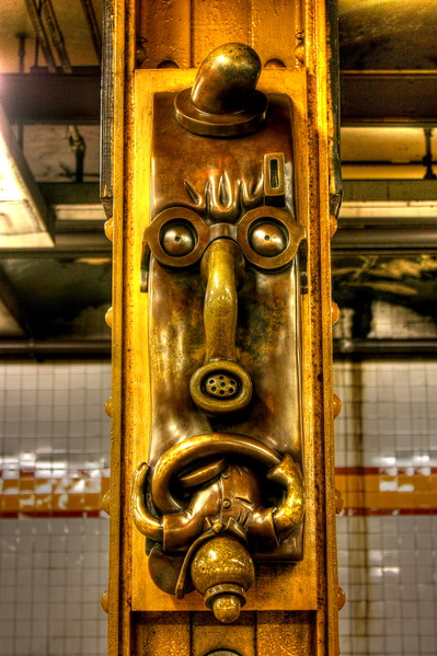 14th Street Subway Station  -- click image for larger view