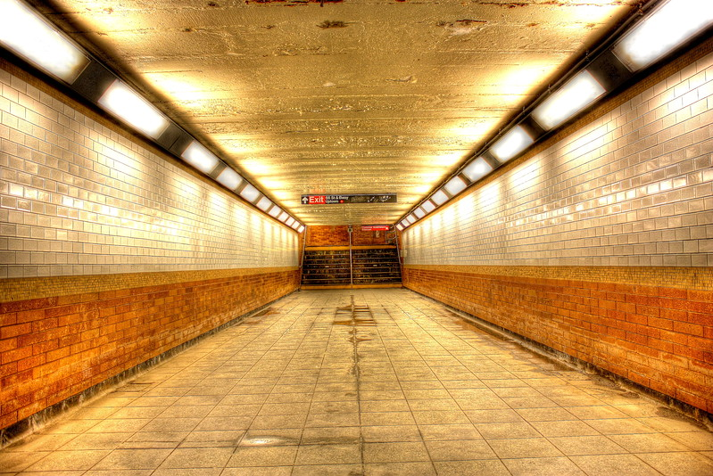 66th Steet Station, 1 Line  -- click image for larger view