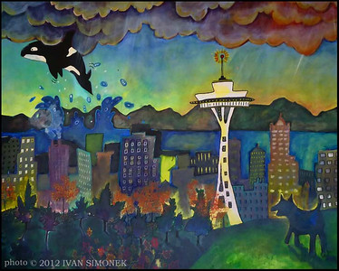 """SEATTLE MURAL""(this photo is not for sale).."