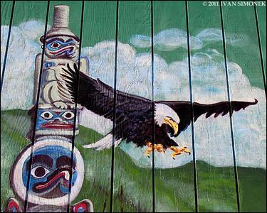 """""""MURAL 3"""",Wrangell,Alaska,USA."""