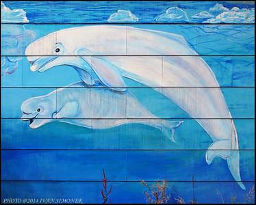 """""""MURAL 7"""",Wrangell,Alaska,USA."""