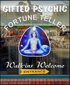 """GIFTED  PSYCHIC  AVAILABLE""."