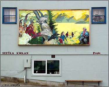 """PEOPLE ART"", Petersburg, Alaska, USA."