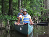 It's this Richmond-area teacher's first time in a canoe...we think she enjoyed it!