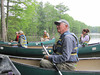 Geoff Giles and other participants are in awe of all the wetland life.