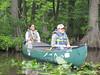 Exploring the Chickahominy by canoe.