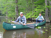 Paddling around on the Chickohominy River/impoundment.