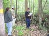 Participants discuss wetland characteristics.