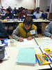 "Central Rappahannock VMN volunteer Donna Finnegan puts her artistic skills to work during ""Create a Critter."""