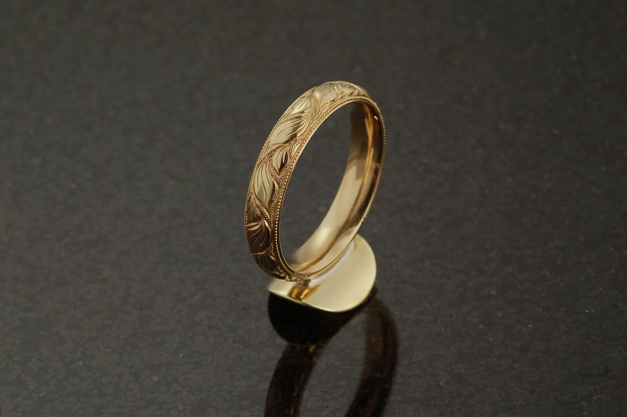 o396 Brass Trumpet Ring-Monette