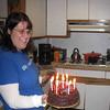 Post game B-day cake