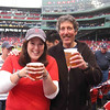 Becca's first Fenway beer- pricey but gooood!