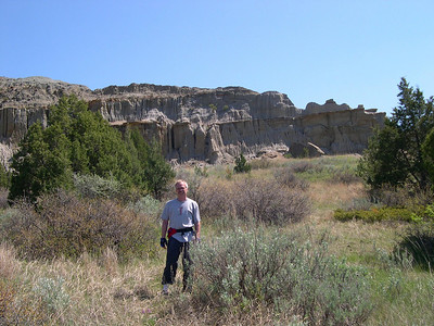 dad and more snazzy geology