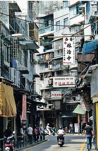 Macau, street scene SM