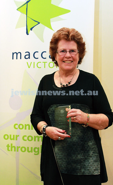 20-05-2012. Maccabi Victoria Sports & Achievement Awards for 2011. Blake Street Hebrew Congregation. Photo: Lochlan Tangas
