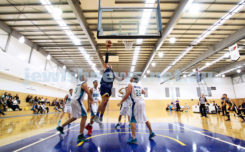 28-4-13. Basketball. Maccabi Warriors v Coburg at Bialik College.  Photo: Peter Haskin