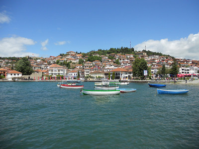The town of Ohrid.