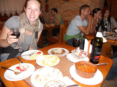 The girl at the hostel recommends a locals' restaurant in a really quiet part of the old town. It does not disappoint!!